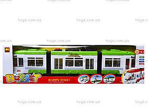 Игрушечный трамвай со световыми эффектами, 1258, магазин игрушек