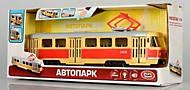 """Трамвай инерционный """"АВТОПРОМ"""", свет, звук, 9708ABCD, отзывы"""