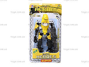 Трансфомер детский Heroes, 998-33, купить