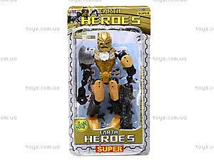 Трансфомер детский Heroes, 998-33, отзывы