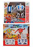 Трансформер «Changerobot», 2 вида, 38-60, купить