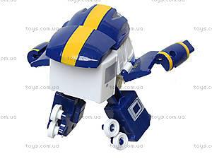Детский трансформер «Робот-поезд», 828-12, фото