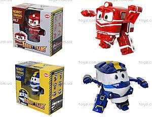 Детский трансформер «Робот-поезд», 828-12