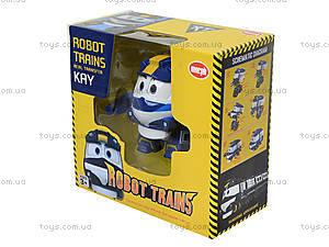 Детский трансформер «Робот-поезд», 828-12, игрушки