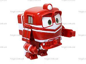 Детский трансформер «Робот-поезд», 828-12, детские игрушки