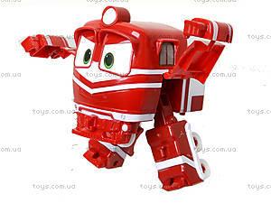 Детский трансформер «Робот-поезд», 828-12, toys.com.ua