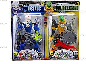 Трансформер для мальчишек «Полицейский», 2014-57, купить