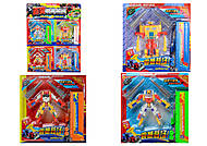 Набор игрушечных трансформеров, 4 штуки, 99-11B
