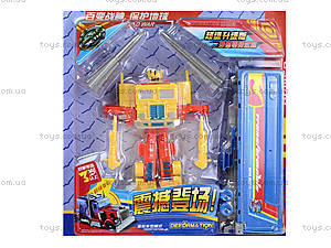 Набор игрушечных трансформеров, 4 штуки, 99-11B, игрушки