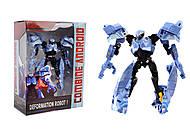Детский игровой робот-трансформер, 2014-6, отзывы