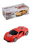 Трансформер Races Car (ездит, звук, свет), FW-2035A, купить