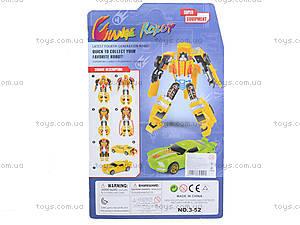 Детский трансформер Change Robot, 2 вида, 3-52, купить