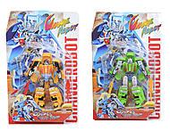 Детский трансформер Change Robot, 2 вида, 3-52