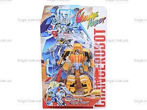 Детский трансформер Change Robot, 2 вида, 3-52, отзывы