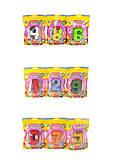 Трансформер цифры от 0 до 9, цветной, в ассортименте, YB188-18Y, отзывы