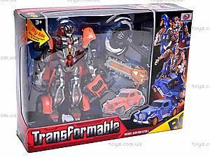 Трансформер детский игрушечный, 668-2, игрушки