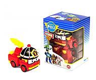 Трансформер для детей «Робокар Поли: пожарная машина Рой», 83168+, отзывы