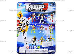 Детский трансформер The Hero Factory, F1308-8, купить