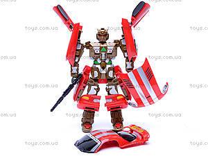 Трансформер «Гонщик», 899-7, детские игрушки