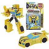 Трансформер Hasbro Transformers Cyberverse Bumblebee, E1884_E1900, фото