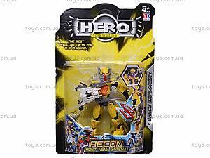 Трансформер HERO, 6 видов, 998-12, отзывы