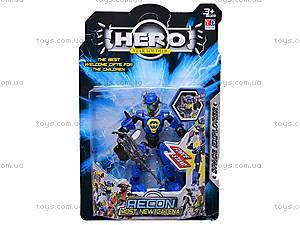 Трансформер HERO, 6 видов, 998-12, цена