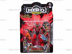 Трансформер HERO, 6 видов, 998-12