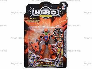 Трансформер HERO, 6 видов, 998-12, магазин игрушек
