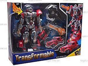 Трансформер игрушечный детский, 668-1, игрушки