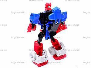 Трансформер игрушечный «Транспорт», 7003-1/2/3, детские игрушки