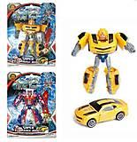 Трансформер желтый «Супер-робот», 1-21, фото