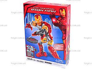 Трансформер-конструктор Iron man, 8902