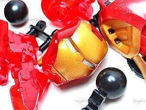 Трансформер-конструктор Iron man, 8902, фото