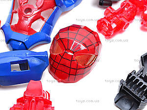 Трансформер-конструктор Spider man, 8904, фото