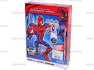 Трансформер-конструктор Spider man, 8904