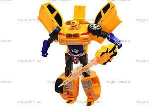 Трансформер-машинка Warrior, 9-138-12, игрушки