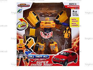 Трансформер-машинка Warrior, 9-138-12, детские игрушки