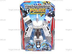 Детский трансформер «Полиция», 568, игрушки
