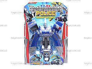 Детский трансформер «Полиция», 568, детские игрушки