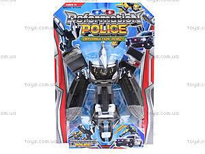 Детский трансформер «Полиция», 568, магазин игрушек