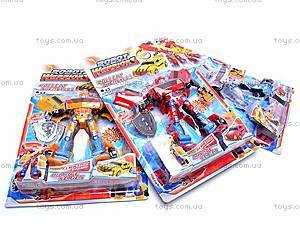 Трансформер-машина, 3 вида, 9-12, детские игрушки