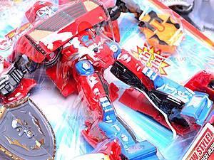 Трансформер-машина, 3 вида, 9-12, магазин игрушек