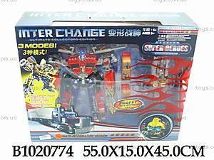 Трансформер-машина игрушечный, 2222A