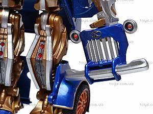 Трансформер-машина «Киберформ» для детей, 668-1, фото