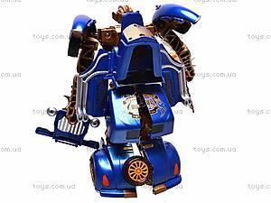 Трансформер-машина «Киберформ» для детей, 668-1, игрушки
