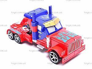 Трансформер-машина с оружием, 9-81, игрушки