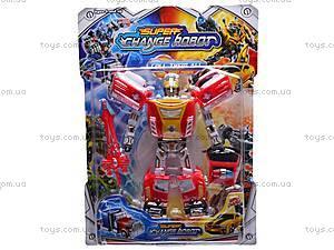 Трансформер-машина Super Change Robot, 8-15