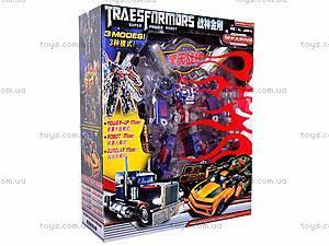 Трансформер-машинка, для детей, 8621