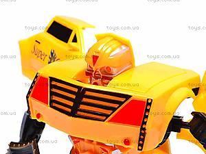 Трансформер-машинка Super Car, 8-12, фото