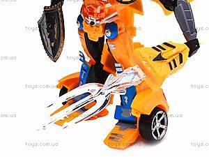 Трансформер-машинка Super Car, 8-12, детские игрушки